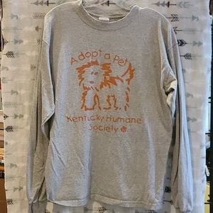 Other - Adopt a Pet Kentucky Humane long sleeved grey L